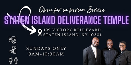 Weekly In Person Sunday Service tickets