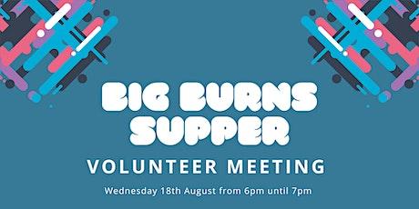 Volunteer Meeting tickets