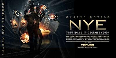 Canvas presents NYE 2021: Casino Royale