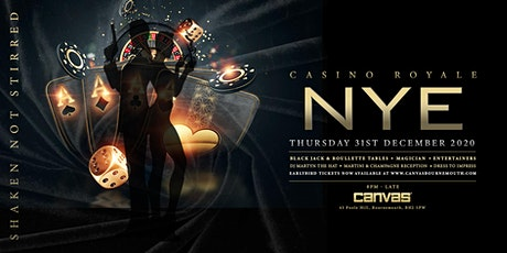 Canvas presents NYE 2021: Casino Royale tickets