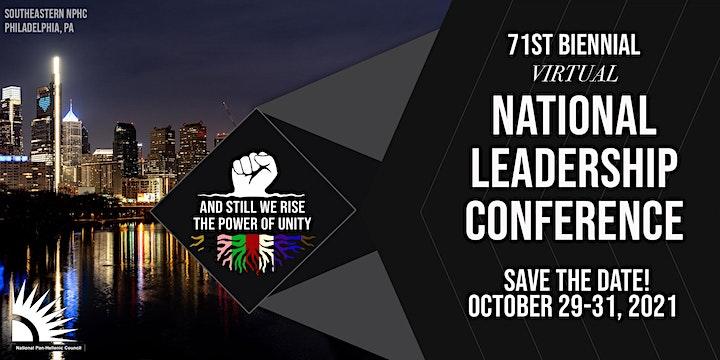 2021 Virtual NPHC National Leadership Conference image
