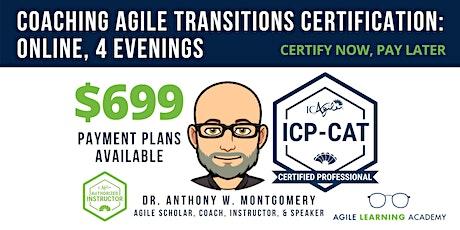 ICAgile Coaching Successful Agile Transitions (ICP-CAT) | Online | 9/27-30 entradas
