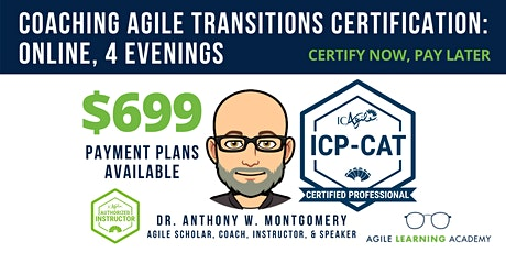 ICAgile Coaching Successful Agile Transitions (ICP-CAT) | Online | 10/25-28 tickets