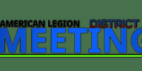 American Legion District 3 Meeting - Harper Creek tickets