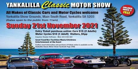 Yankalilla Classic Motor Show tickets