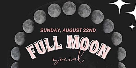 Full Moon Social at Indigo tickets