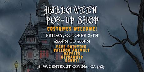 Halloween Costume Pop-Up Shop tickets