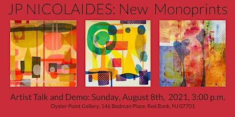 JP Nicolaides: Artist Talk tickets