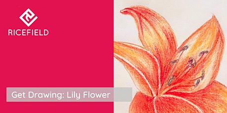 Get Drawing: Lily Flowers Workshop tickets