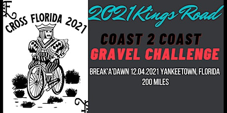 Cross Florida Gravel: The Kings Road tickets