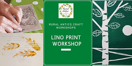 Lino Print Workshop tickets