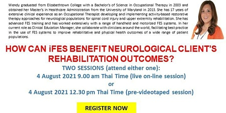 How can iFES can benefit neurological client's rehabilitation outcomes? tickets