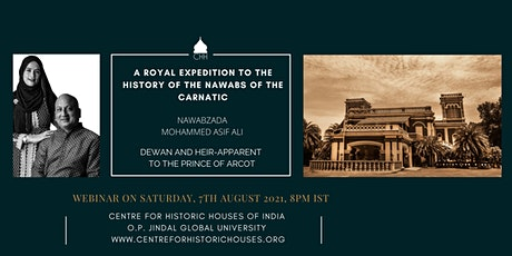 Resilience: A Royal Expedition to the History of the Nawabs of the Carnatic Tickets