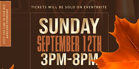 Arcane The Brand presents: The Fall Into Fashion Expo tickets