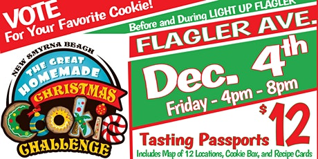 New Smyrna Beach Great Homemade Christmas Cookie Challenge tickets