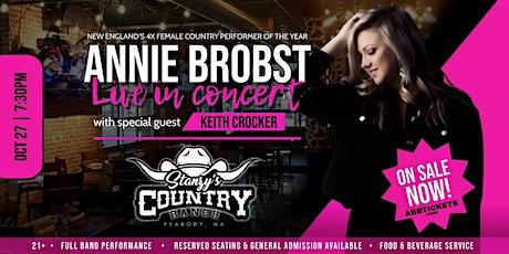 Annie Brobst Band w/ opener Keith Crocker at Stanzy's, Peabody! tickets