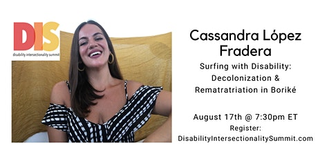 DIS 2021: Surfing with Disability, Decolonization & Rematriation in Boriké tickets