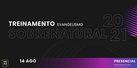 Treinamento - Evangelismo Sobrenatural ingressos