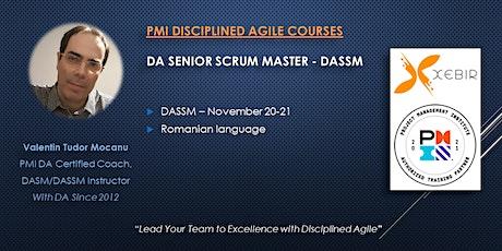PMI Disciplined Agile Senior Scrum Master (Romanian) tickets