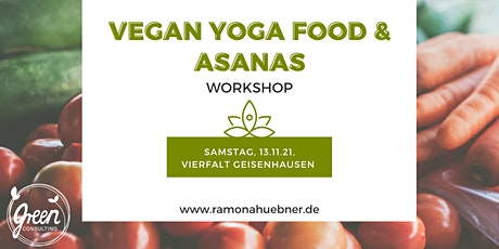 Vegan Yoga Food & Asanas Tickets