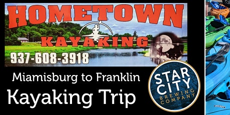 August Great Miami River Kayaking Trip (Miamisburg to Franklin) tickets