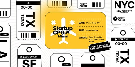 Startup CPG Miami Meetup - September tickets
