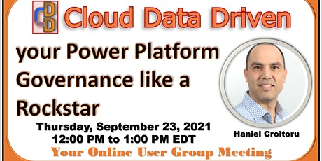 Manage your Power Platform Governance like a Rockstar tickets