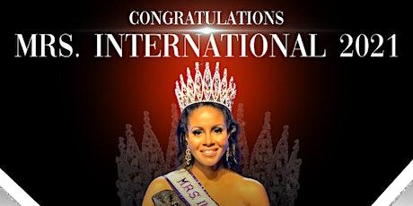 Welcome Home Mrs. International 2021 Yolanda Stennett tickets