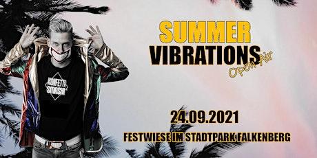 Summer Vibrations Open Air /// Housekasper, Oliver Brauer, Monsterbeat & JP Tickets