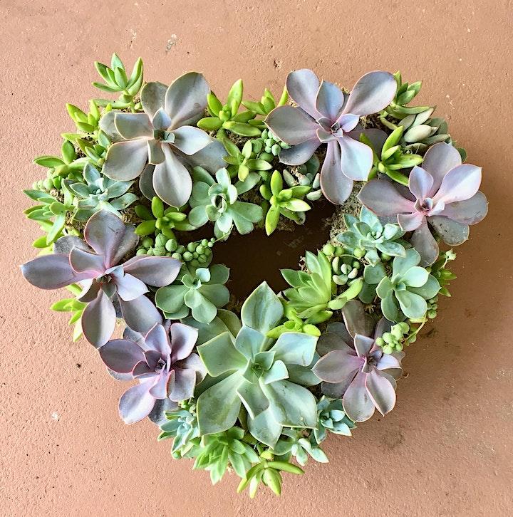 Sips + Succs Workshop: Succulent Wreath image