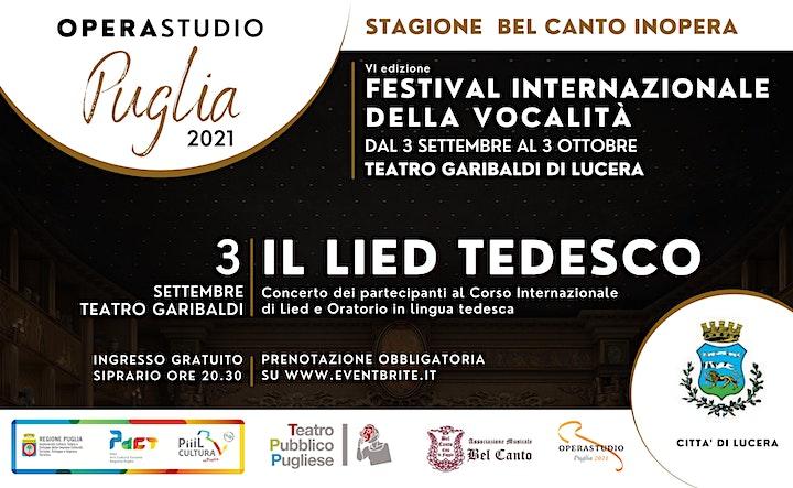 Immagine IL LIED TEDESCO concerto dei partecipanti al corso internazionale di Lied