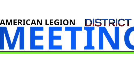 American Legion 3rd District Meeting - Albion tickets