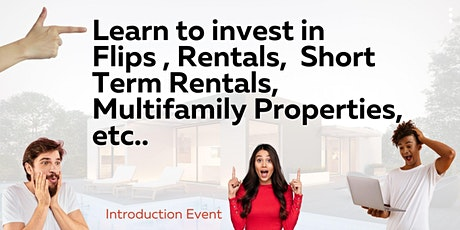 Beginners REAL ESTATE INVESTING Event!!!Orientation Tickets