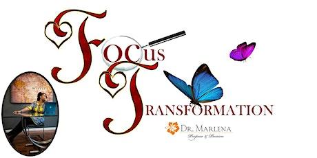 October  2021 Focus Transformation tickets
