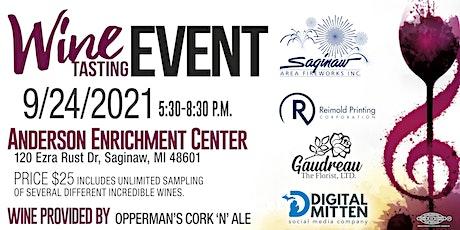Saginaw Area Fireworks Wine Tasting Event tickets