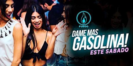 Sabado de Gasolina en Club Fuego • Reggaeton & más • Free guest list tickets