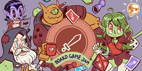 Board Game Jam 2021 biglietti
