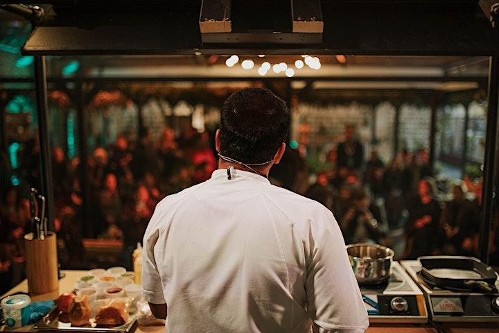 Santosh Shah at Cinnamon Kitchen City  Modern Nepalese Dinning image