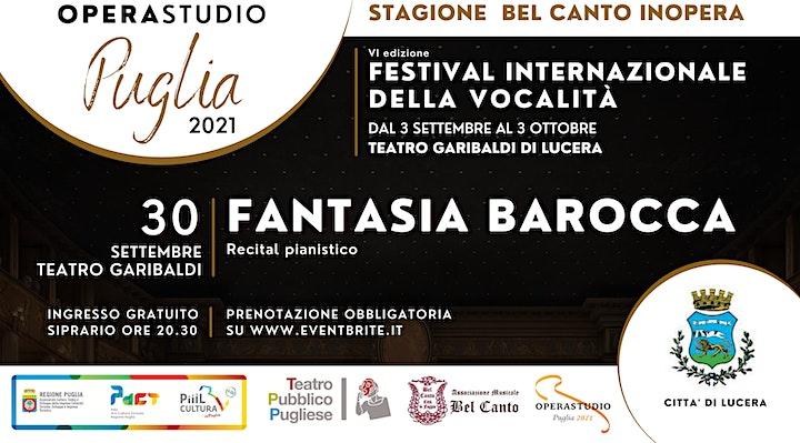 Immagine FANTASIA BAROCCA  recital pianistico