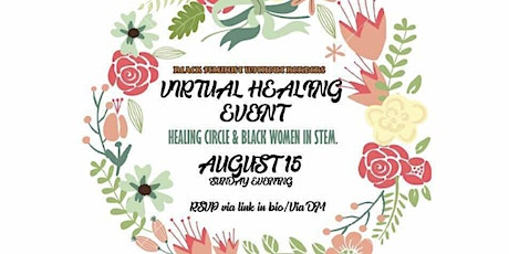 Healing Circle For Black&Brown Women in STEM tickets