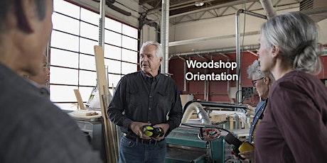 Woodshop Orientation tickets
