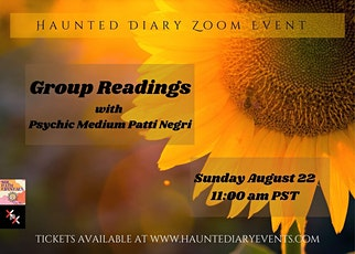 Readings with Patti Negri tickets