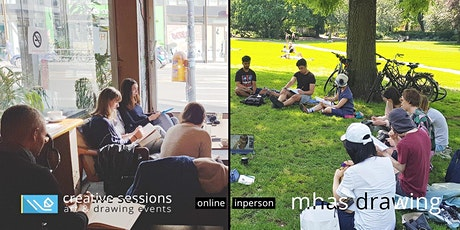 MHAS Drawing [#32 Finch] Online & Inperson - Berlin Sketching tickets