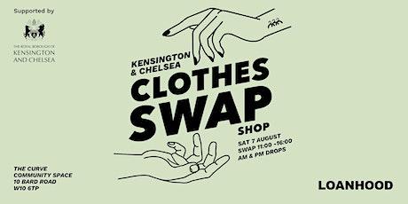 LOANHOOD X KENSINGTON & CHELSEA COUNCIL CLOTHES SWAP tickets