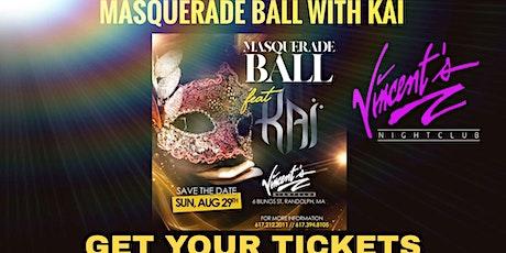 Kai Masquerade Ball/ Album release party tickets