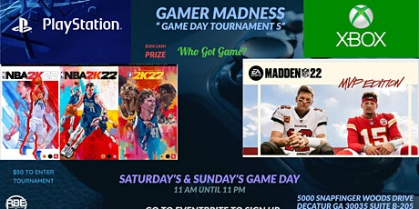 Gamer  Madness tickets