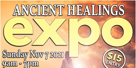Ancient Healings Expo tickets