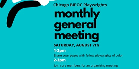 Chicago BIPOC Playwrights General Monthly Meeting tickets
