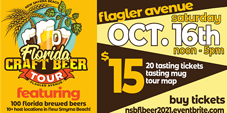 New Smyrna Beach Florida Craft Beer Tour tickets