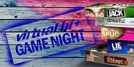 VIRTUAL Bi+ Game Night: Bisexual Social Event by BiRequest billets